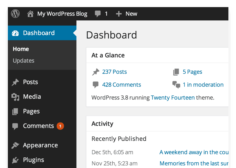 wordpress-blog-setup-dashboard