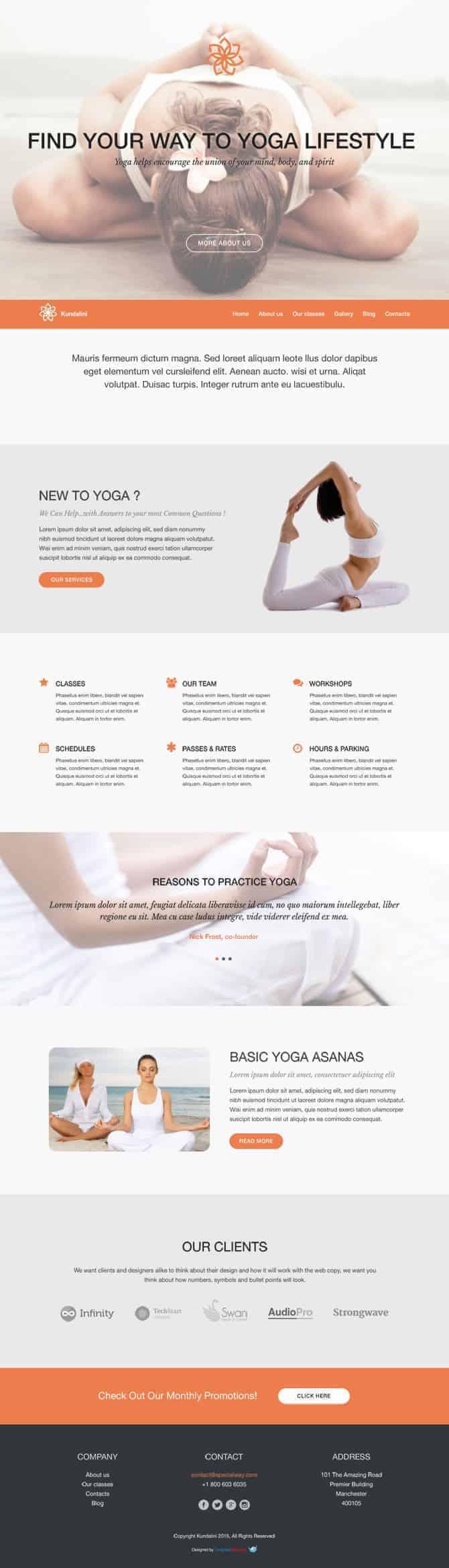 joga-wordpress-darmowy-motyw