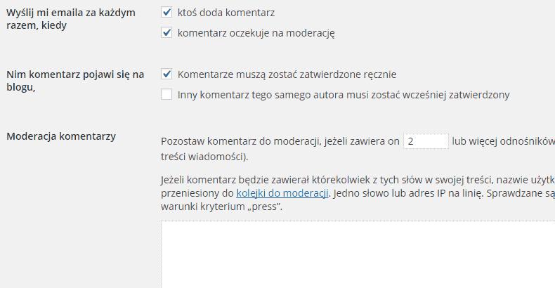 komentarze-w-wordpress-moderacja