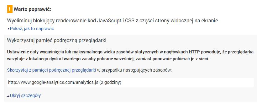 google-analytics-wordpress-cache
