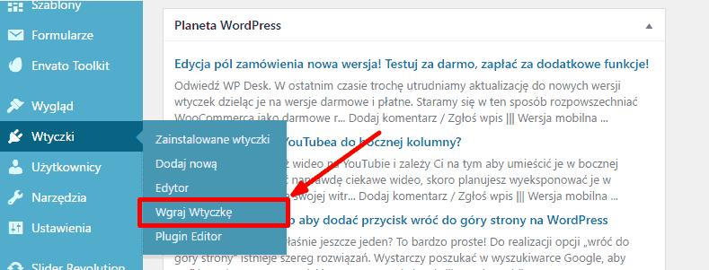 wgraj-wtyczke-wordpress