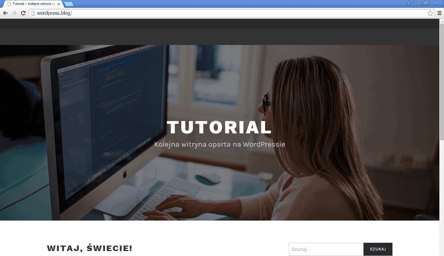 wordpress-blog-witryna-testowa