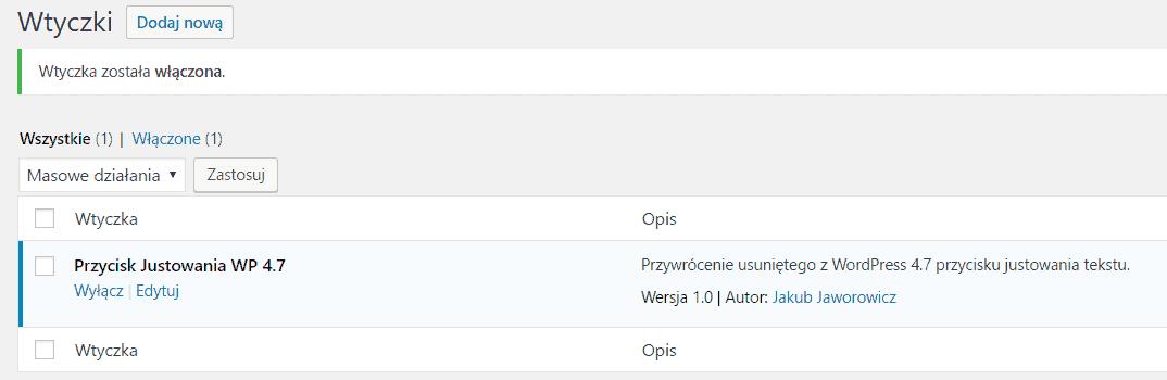justowanie-w-wordpress-wtyczka-plugin