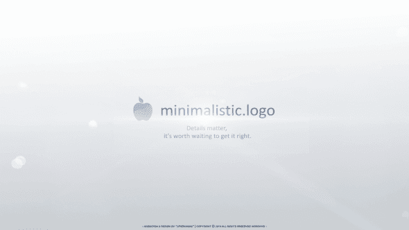 Corporate Slogan Image Logo Reveal