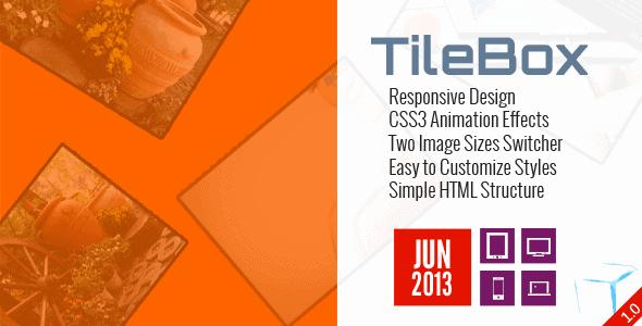 TileBox – Modern Responsive LightBox CSS