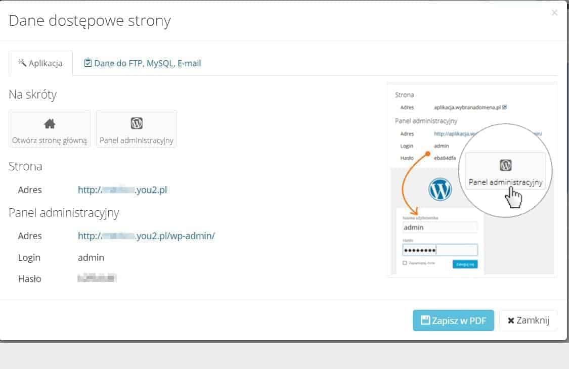 Elastyczny hosting iserwer dla WordPress oddHosting - Test
