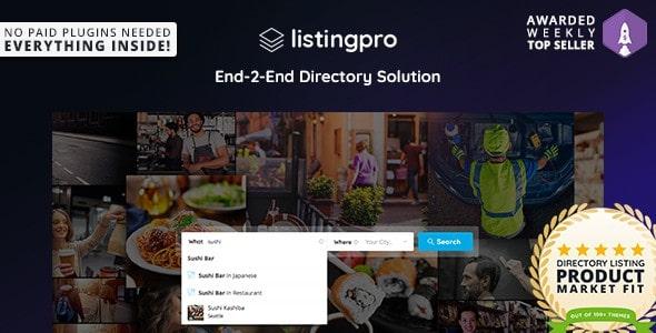 ListingPro – Motyw WordPress   ThemeForest-19386460 zip