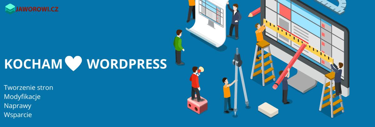 WordPress Tworzenie stron Modyfikacje NaprawyWsparcie