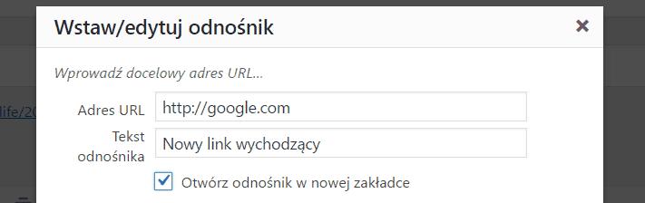 """WordPress 4.7.4 - rel=""""noopener noreferrer"""" wlinkach wychodzących"""