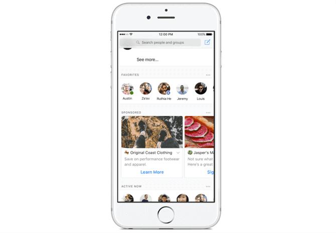 reklama wfacebook messenger