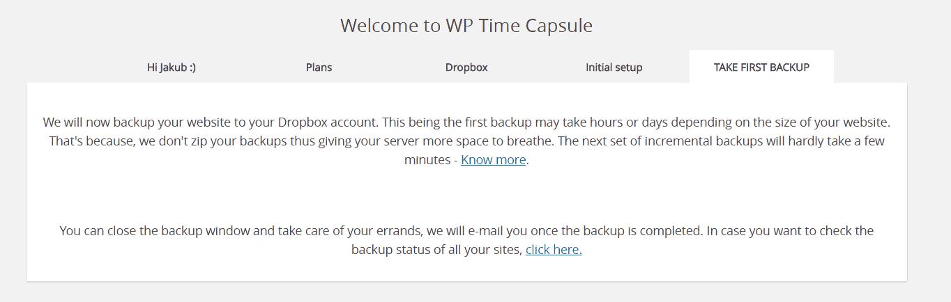 Najlepsza wtyczka dokopii zapasowych WordPress? - WP Time Capsule
