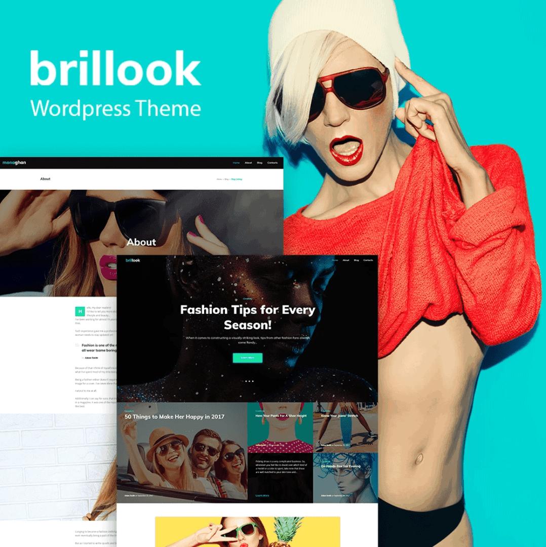 TemplateMonster 64046 – Szablon WordPress dla bloga modowego, sklepu internetowego.