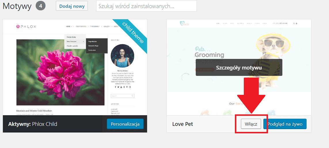 Jak zainstalować motyw (szablon) wWordPress? - 3 sposoby