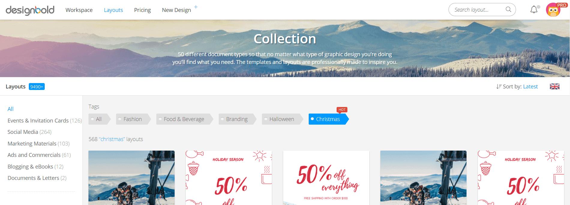 Znasz Canva.com? Wypróbuj DesignBold izapomnij, żeistnieje