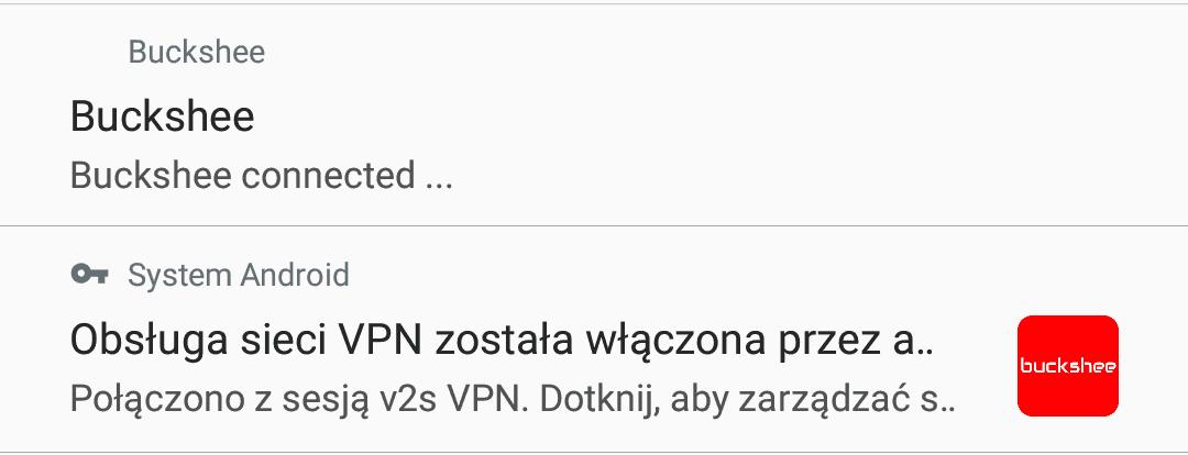 Buckshee VPN bezpłatny internet wtablecie