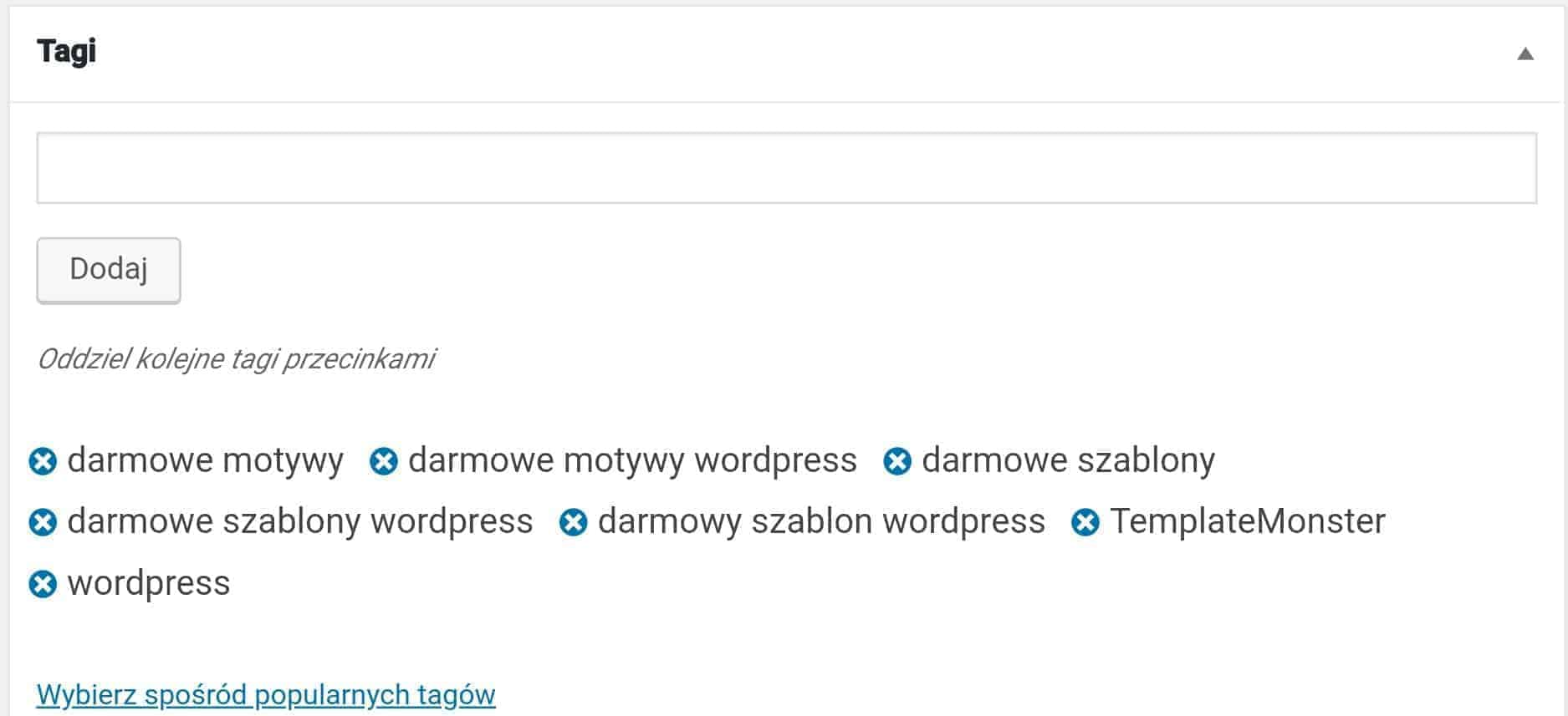 Słownik WordPress: Taksonomia - czym jest?