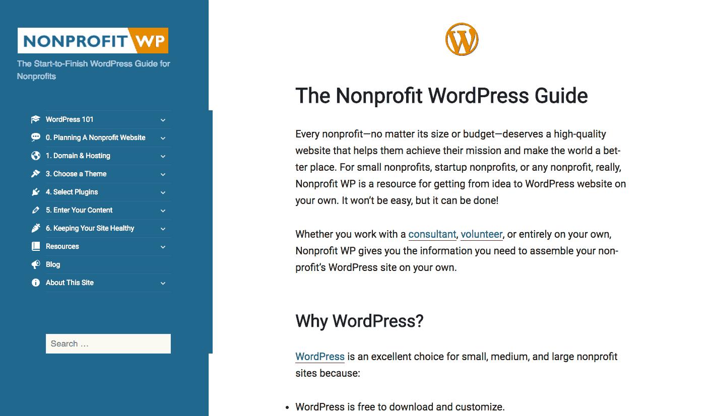 WordPress dla organizacji non-profit, fundacji istowarzyszeń