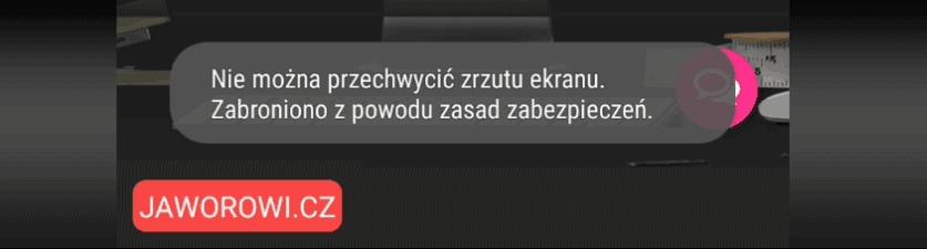 Blokada zrzutów ekranu iczęściowa blokada nagrywania wtrybie incognito - chrome.
