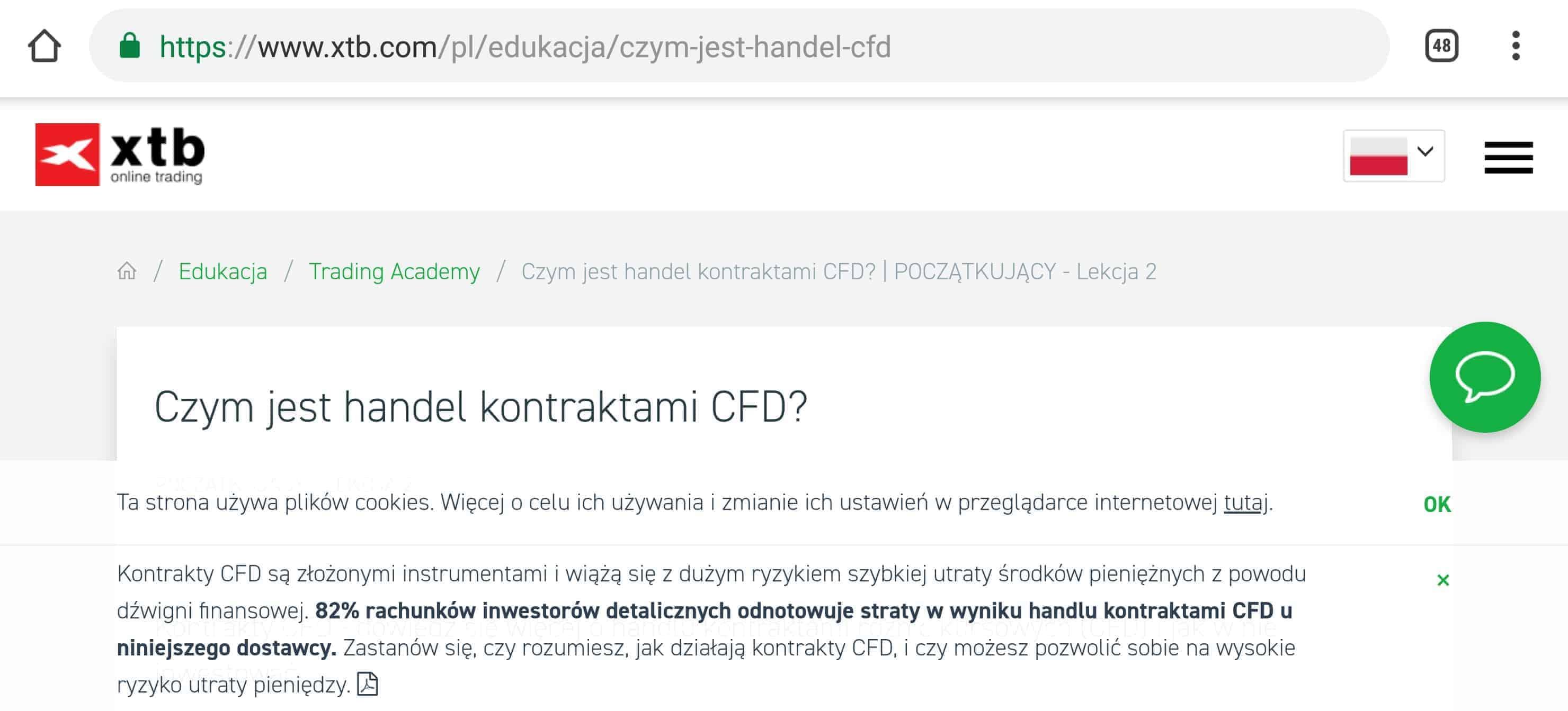 Czym jest handel kontraktami CFD? - Strona XTB