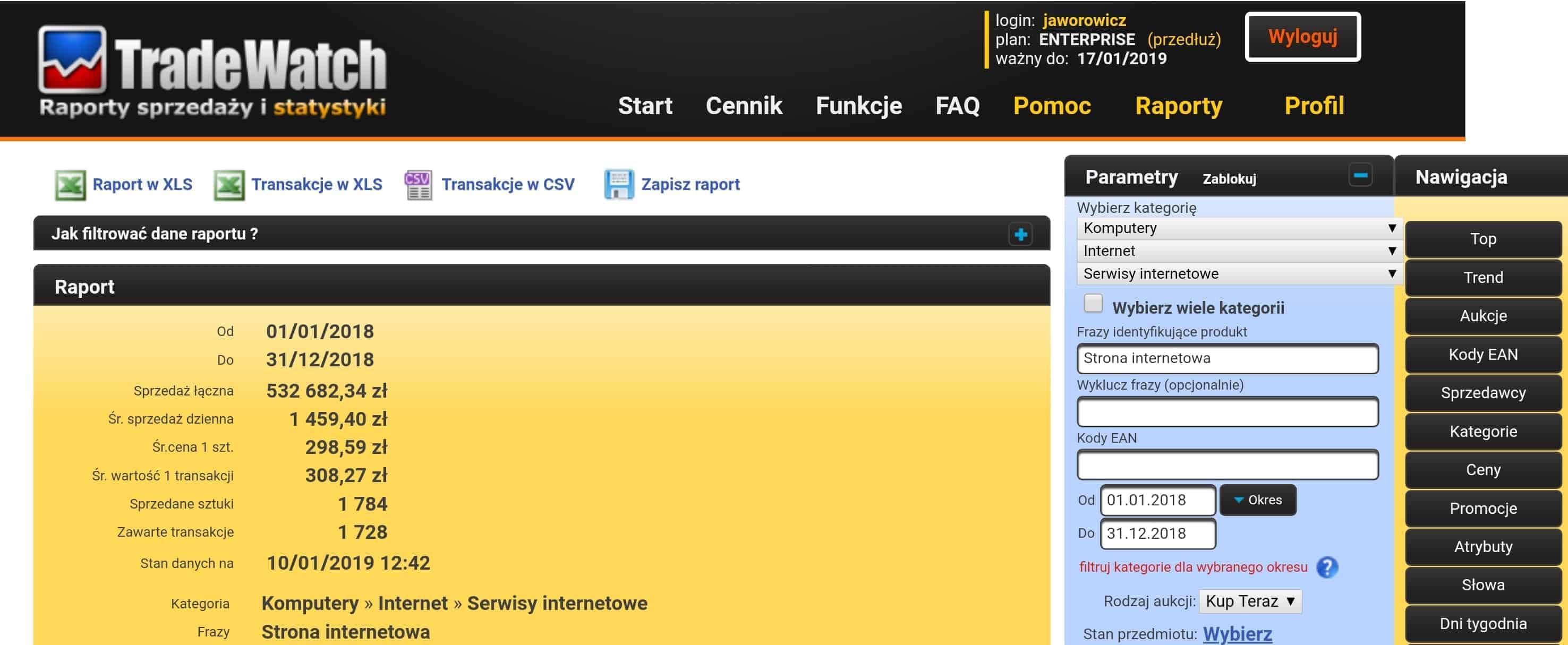 tania strona www zallegro
