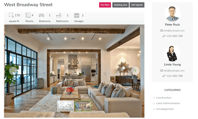galeria zdjęć strona agentów nieruchomości mieszkania apartamenty działki