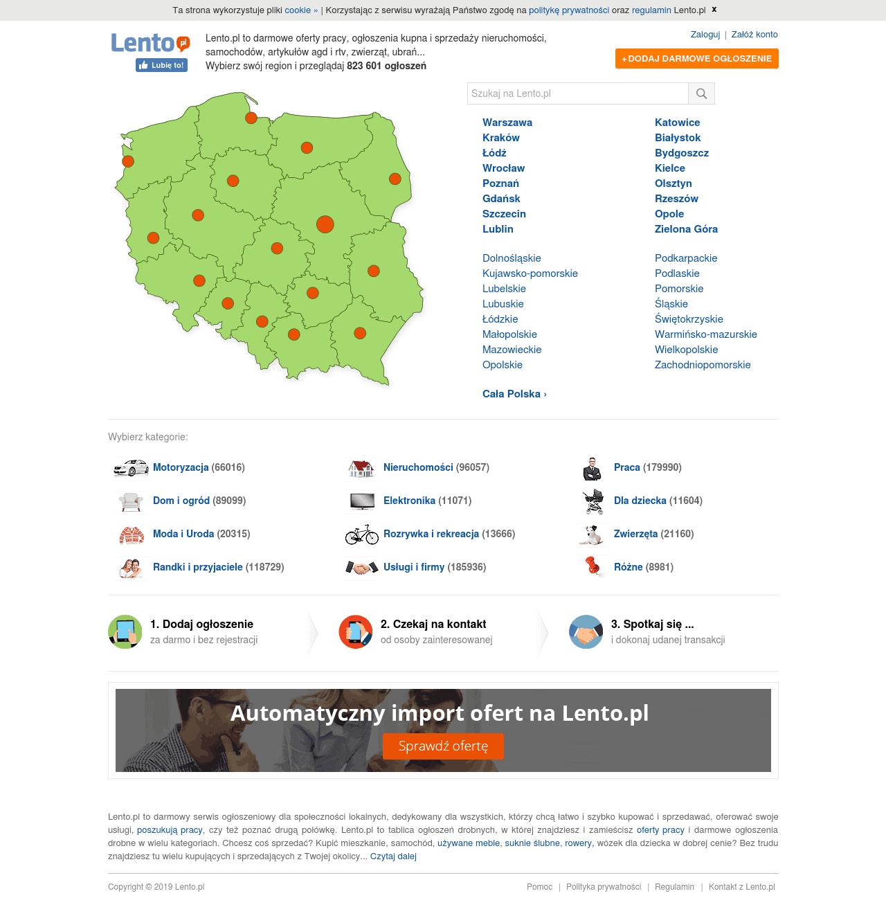 Lento.pl darmowe ogłoszenia