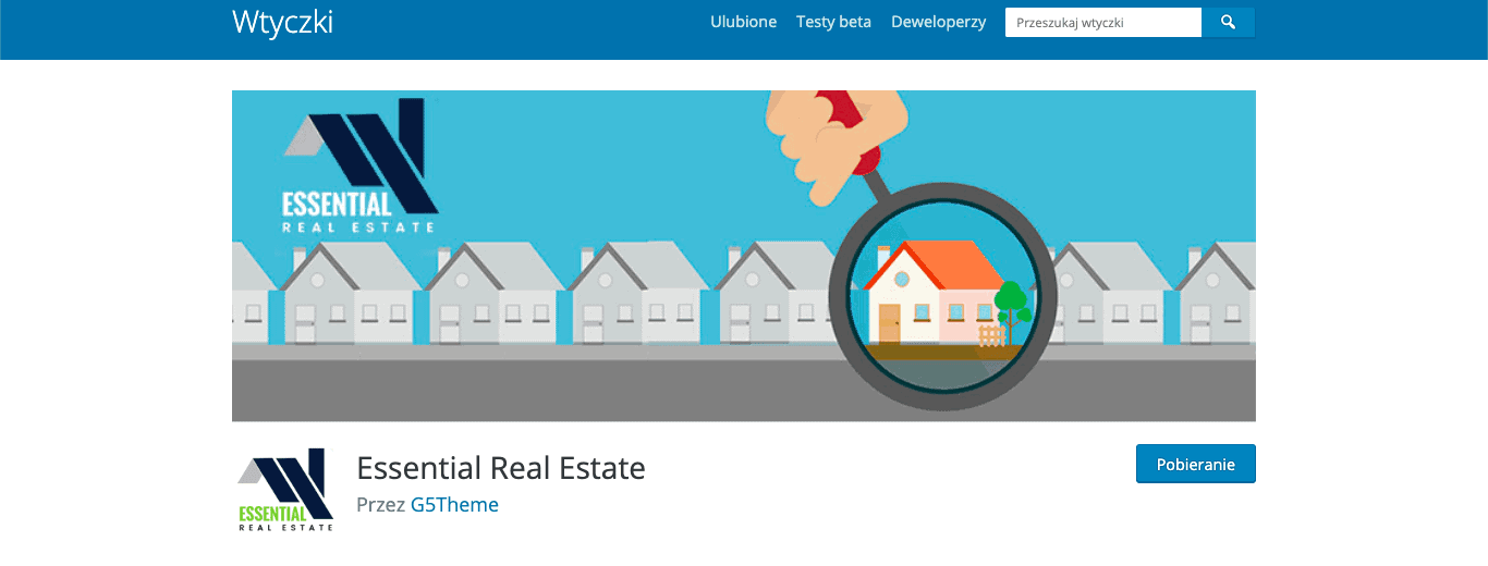 Essential Real Estate wtyczka wordpress