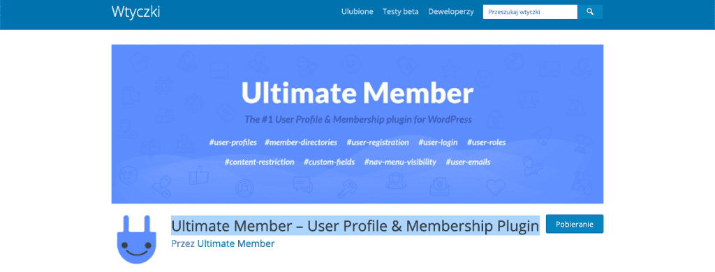Ultimate Member – User Profile & Membership Plugin wordpress