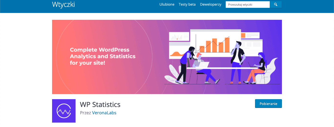 wp statistics wordpress wtyczka