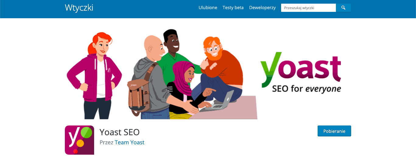 yoast seo wtyczka wordpress