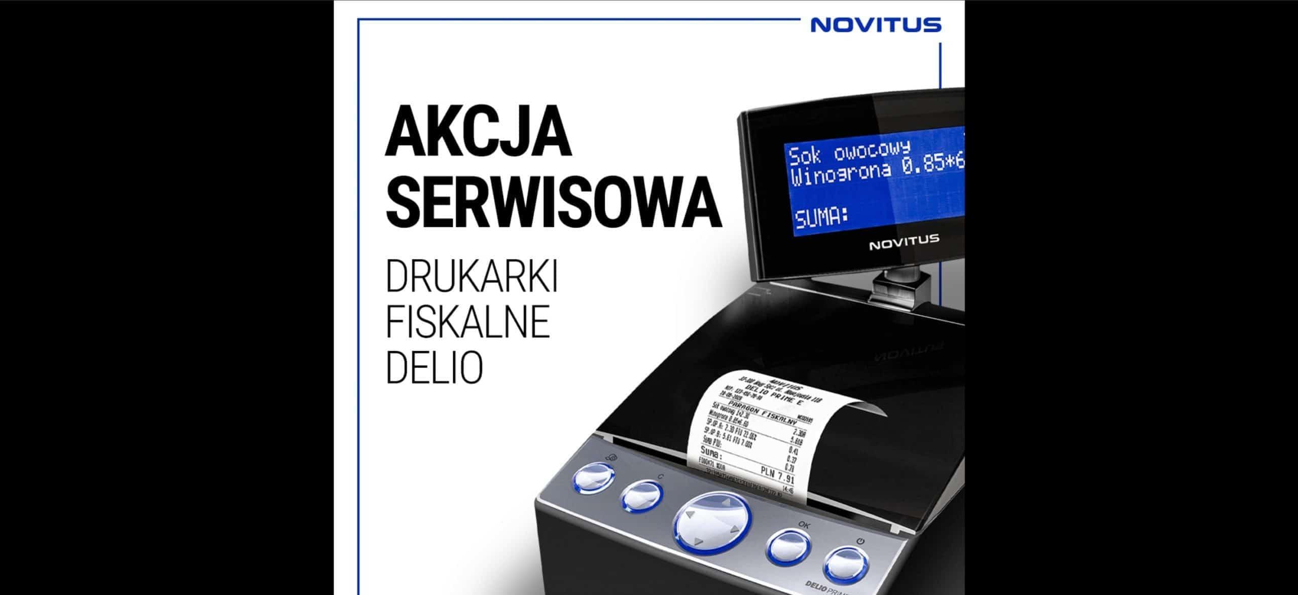 Novitus DELIO akcja serwisowa 2020