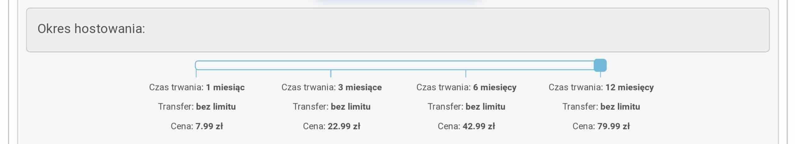 CBA.pl darmowy serwer hosting