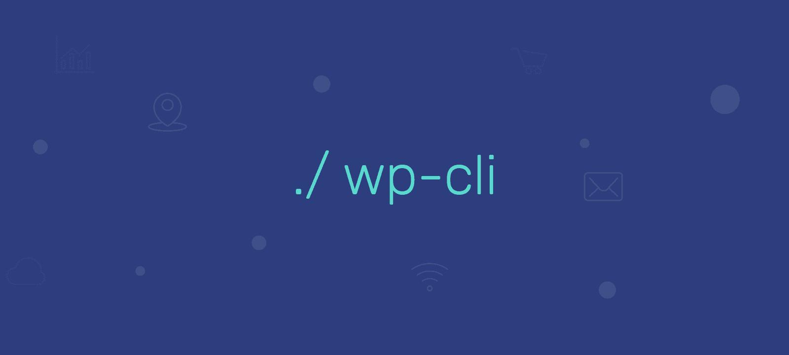 wp-cli wordpress shell terminal console