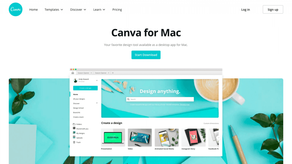 Canva Desktop - Windows Mac