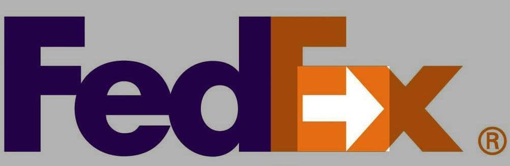 projektowanie logo - przykładowe logo fedex strzałka ukryte znaczenie.