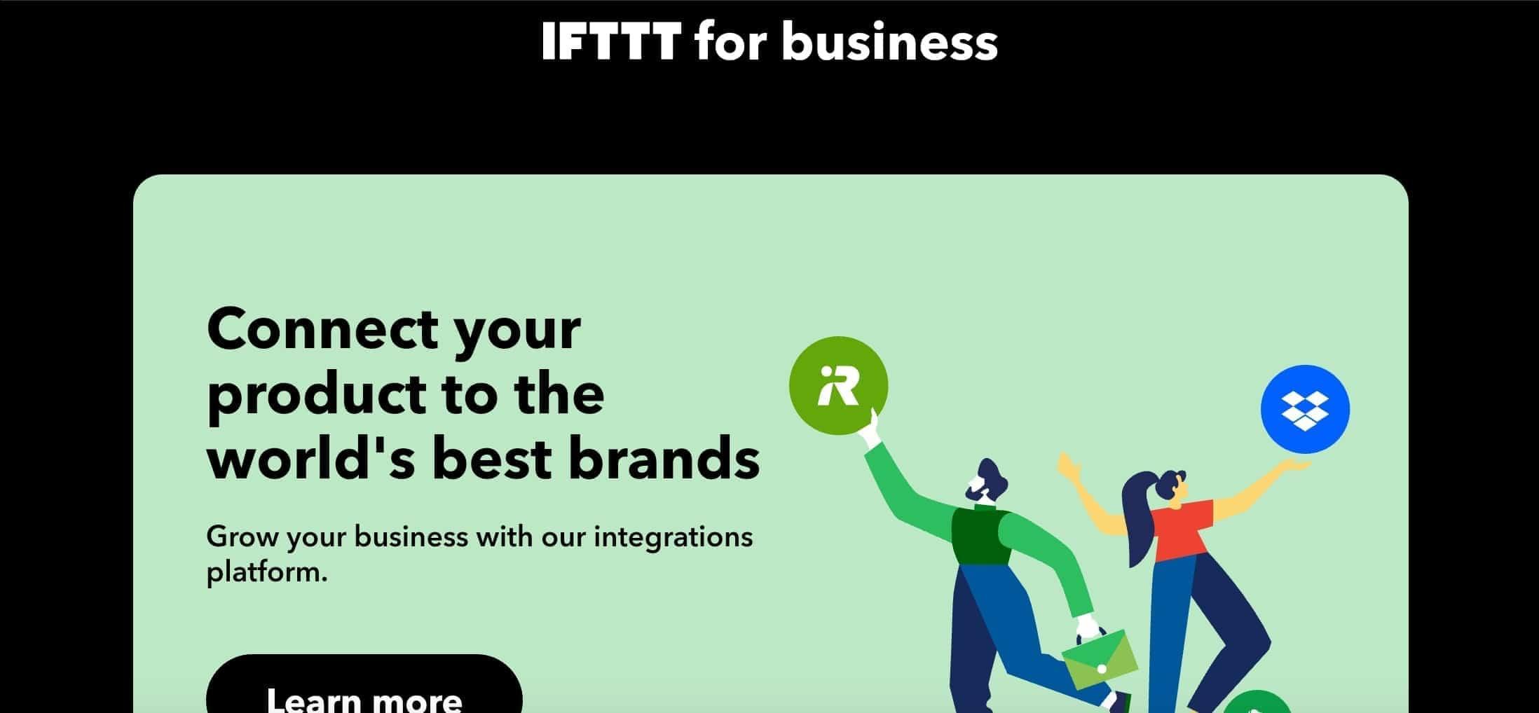 IFTTT API DLA BIZNESU