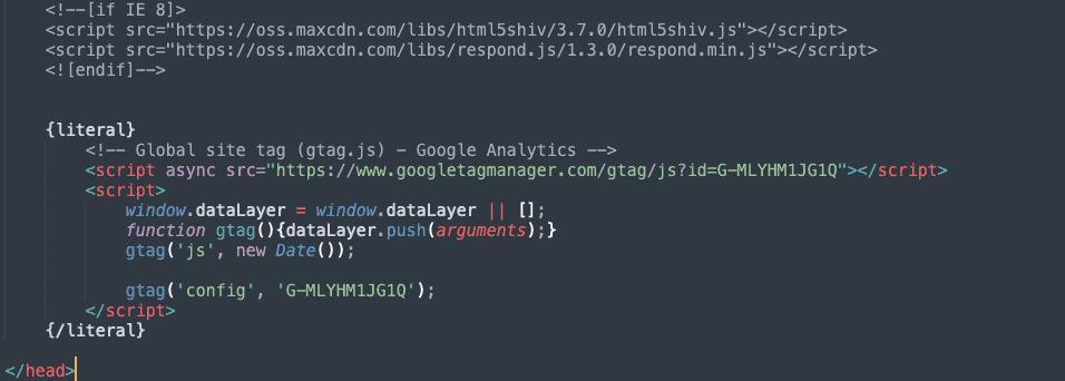 instalacja google analytics wprestashop